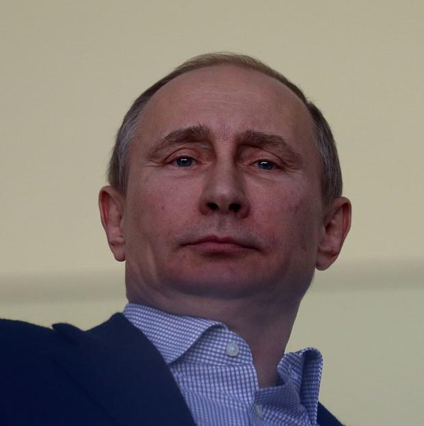 Russian president Vladimir Putin said they will treat Ukrainian authorities 'with respect'
