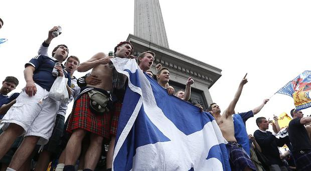 Scotland are due to take on Nigeria in London