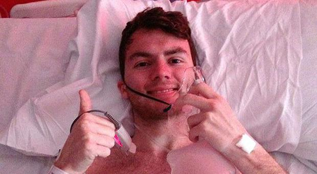 Stephen Sutton who raised almost £4 million for charity.