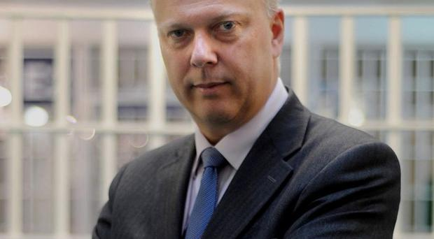 Chris Grayling said judges will want to protect the interests of justice