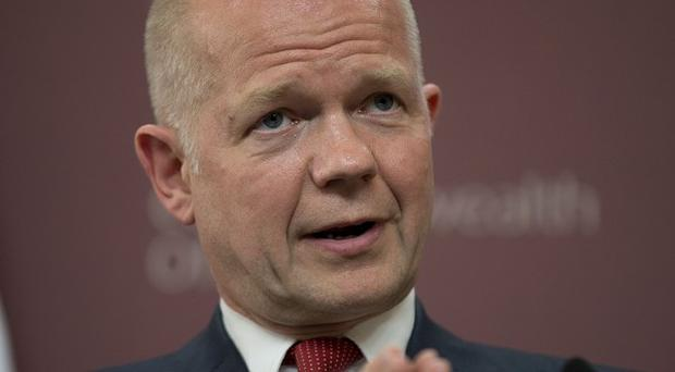 Foreign Secretary William Hague said the Syrian presidential election was in no way democratic
