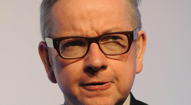 Michael Gove has warned parents he will not tolerate failure.