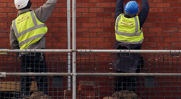 A surge by housebuilders helped UK construction activity grow at its fastest annual pace in four months in June
