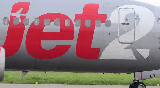 The Jet2.com flight left a day late