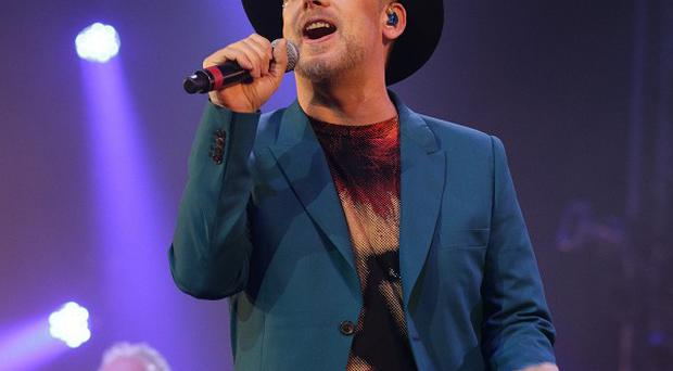 Boy George performing in the Big Top Stage at the Isle of Wight Festival