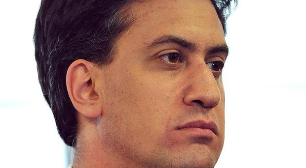 Ed Miliband was promoting England's World Cup bid