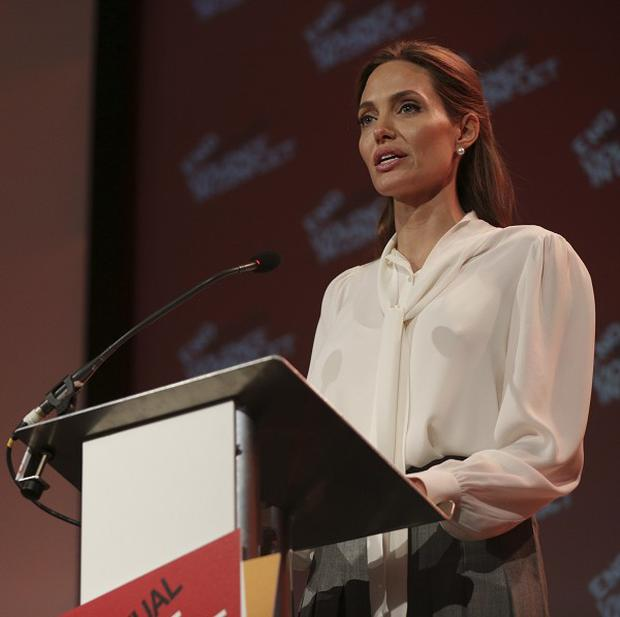 Angelina Jolie has been handed a honorary damehood