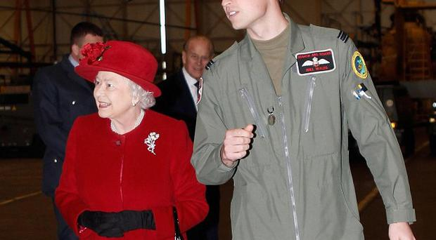 Prince William is more popular with the public than his grandmother, a poll suggests