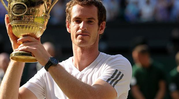 Andy Murray is aiming to emulate Fred Perry again by retaining the Wimbledon singles title