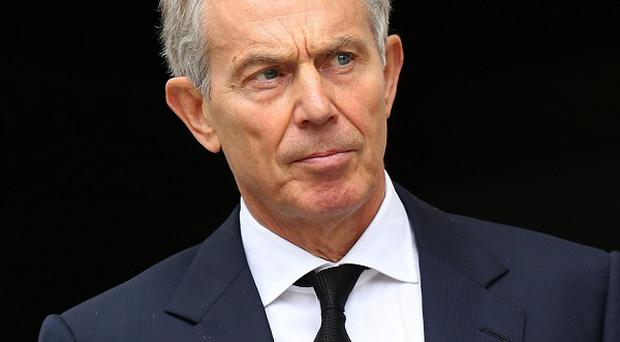 Tony Blair rejected arguments that Iraq would be more peaceful today if the west had never intervened as