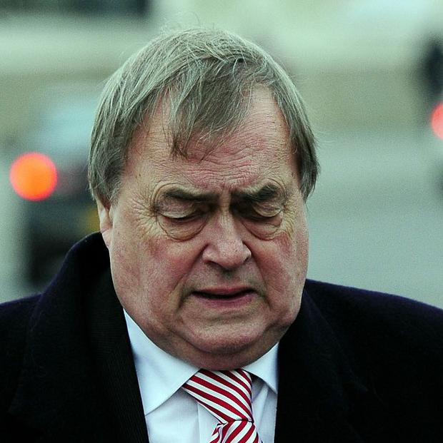 Former Deputy PM Lord Prescott has said Israel's bombardment of Gaza is a 'war crime'