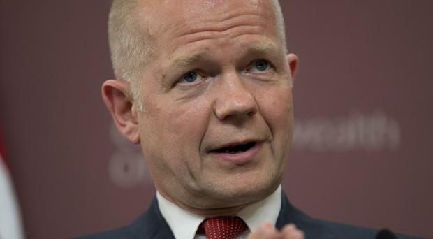 William Hague has appealed for calm amid rising tensions in the Middle East