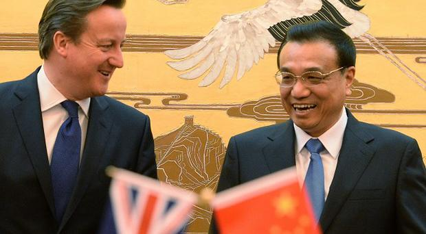 David Cameron is set to renew acquaintances with Li Keqiang.
