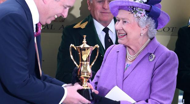 The Queen was one of the victorious owners at Royal Ascot last year.