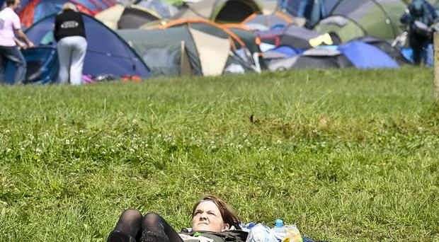 The sun is set to shine at Glastonbury, according to forecasts