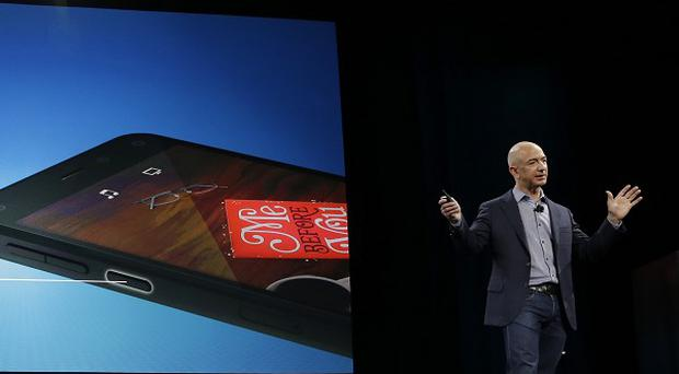 Amazon CEO Jeff Bezos talks about the new Fire Phone