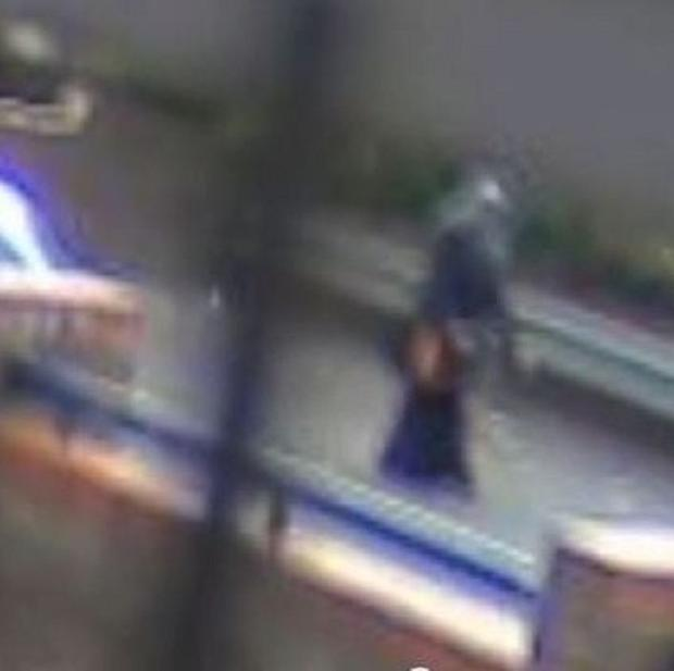 CCTV footage shows Nahid Almanea's last movements (Essex Police/PA)
