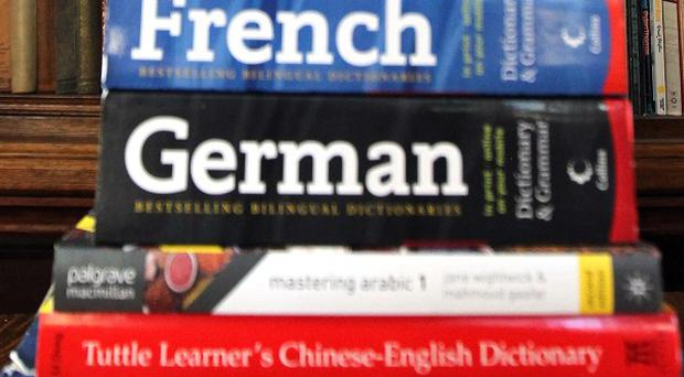 Employers are looking for people who can speak 'new market' languages such as Mandarin or Russian
