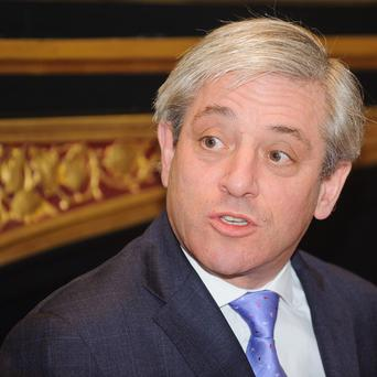 John Bercow believes the House of Commons is