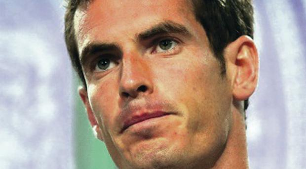 Determined: Andy Murray