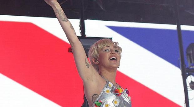 Miley Cyrus has caused controversy with her on-stage routines