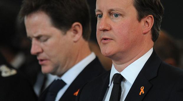 Some senior Tories are calling for the break-up of the coalition Government