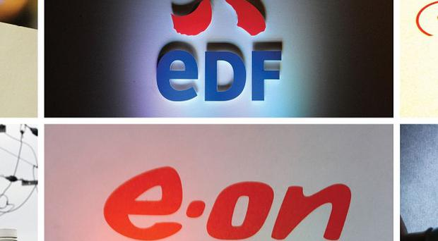 The Big Six energy companies - British Gas, EDF, RWE npower, SSE, E.ON and ScottishPower - face a full competition inquiry