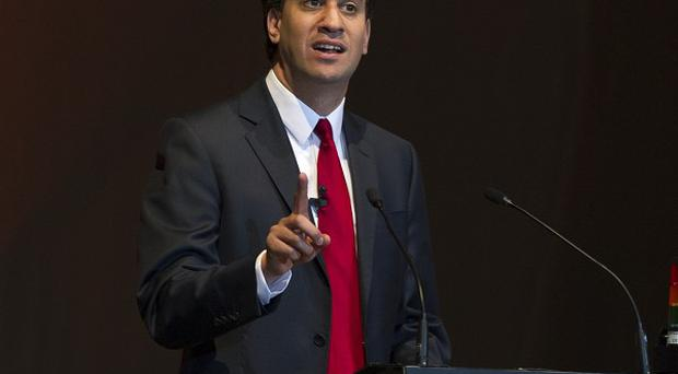 Ed Miliband said David Cameron and the Conservative Party pose a