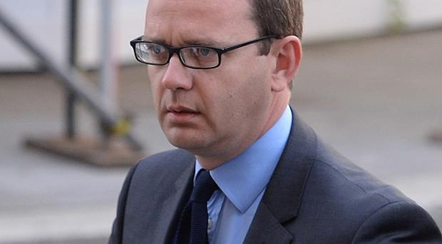 Andy Coulson's lawyers did not tell him phone hacking was illegal, his lawyer told the court
