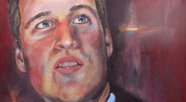 A new portrait of the Duke of Cambridge will be unveiled today
