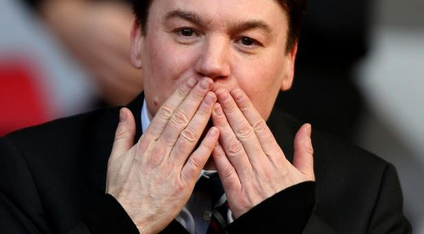 Mike Myers was reluctant at first to express an opinion