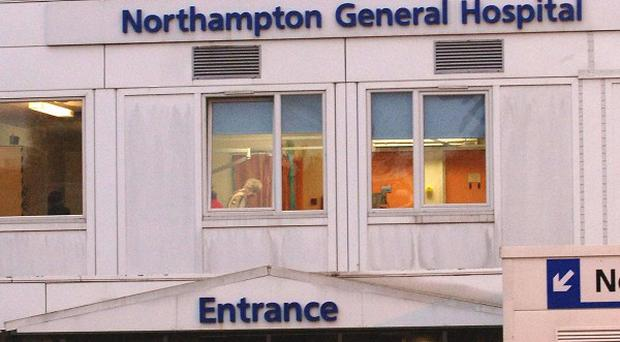The dispute concerns staff at Northampton General Hospital