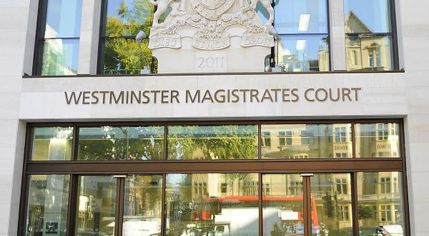 Mark Colborne appeared at Westminster Magistrates' Court