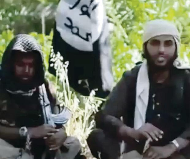 A video showing Islamist fighters who claim to be British in an Isis recruitment video