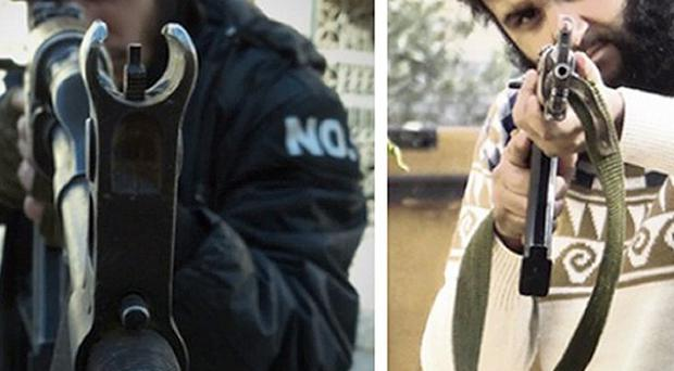 Mohammed Nahin Ahmed, left, and Yusuf Zubair Sarwar, who have admitted preparing to carry out terrorist acts