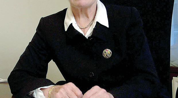 Former High Court judge Baroness Butler-Sloss says she will not step down