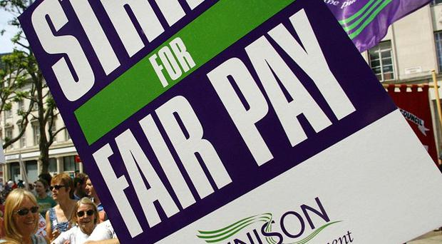 Public sector workers are expected to walk in a dispute over pay, pensions, jobs and spending cuts
