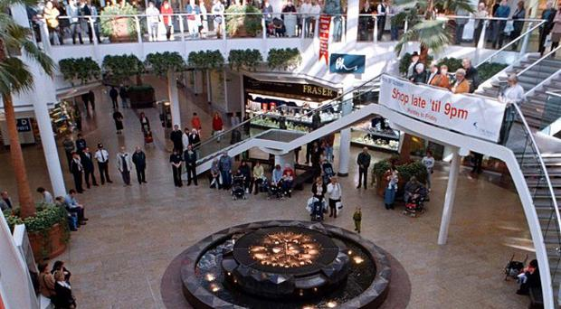 A 41-year-old man was attacked at Cribbs Causeway shopping centre in Bristol (Barry Batchelor/PA)