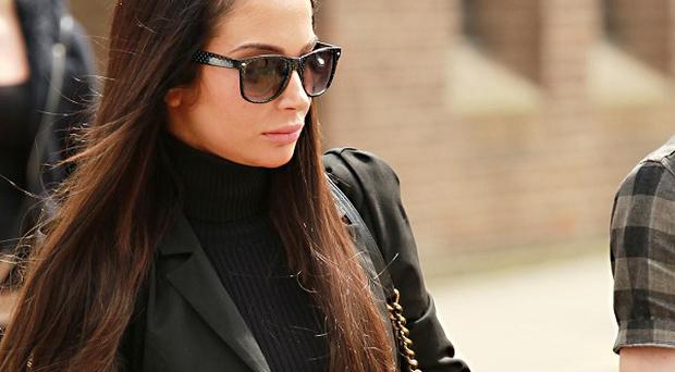 Singer Tulisa Contostavlos was appearing at Southwark Crown Court