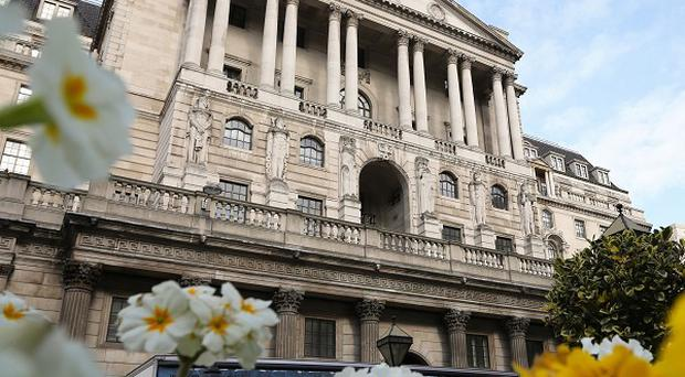 File photo dated 06/03/14 of the Bank of England in London as Britain's longest stretch of low inflation for nine years is expected to be confirmed when official figures are published today.