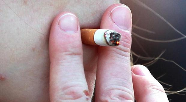 Ash urged ministers to bring in the regulation banning smoke in vehicles where children under the age of 18 are present