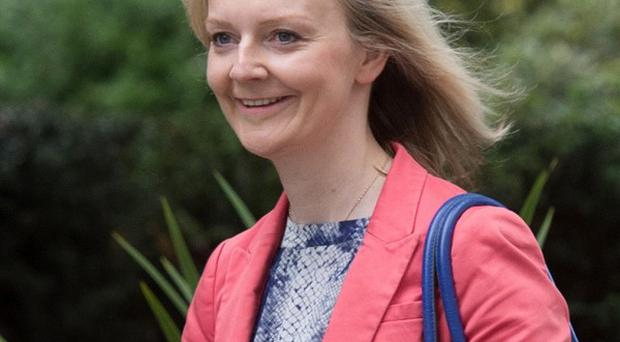 Newly-appointed Environment Secretary Liz Truss arrives in Downing Street