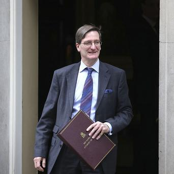 Dominic Grieve lost his job as Attorney General in the Cabinet reshuffle