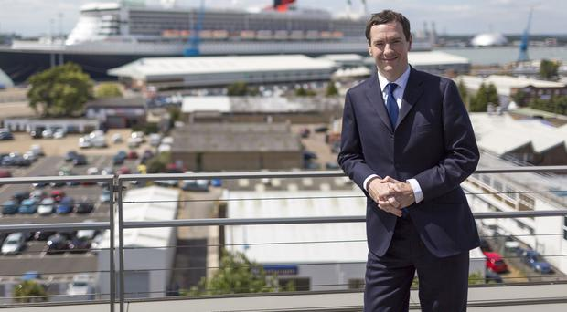 George Osborne welcomed the IMF forecast