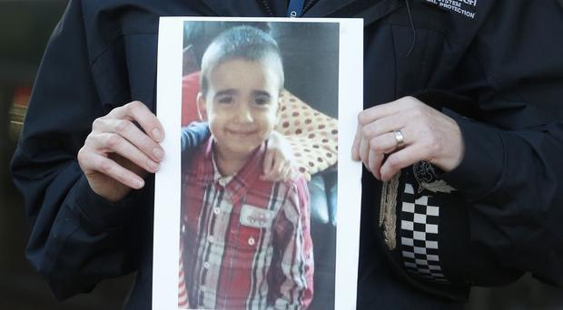 The mother of Mikaeel Kular has been accused of his murder