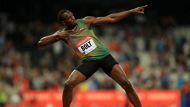 Jamaica's Usain Bolt is the biggest name competing in the Commonwealth Games