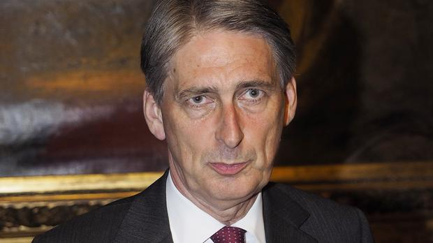 Foreign Secretary Philip Hammond is holding talks with foreign ministers from other nations in Paris