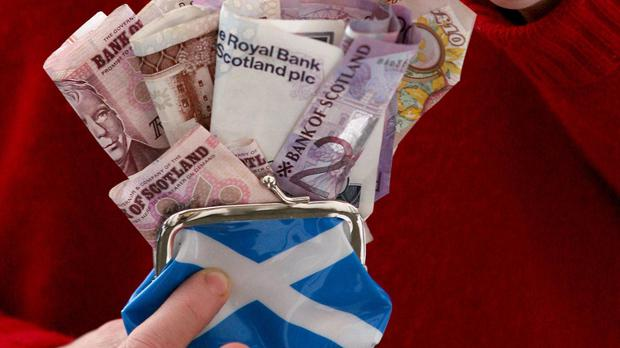 Scottish wealth per head is over £2,300 higher than the UK as a whole, according to the SNP