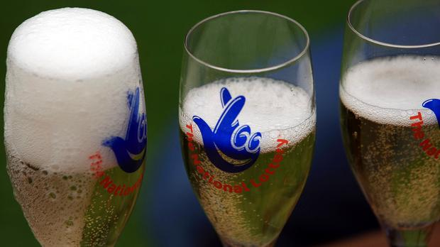 One fortunate Lotto winner was raising a glass after winning £4.2 million