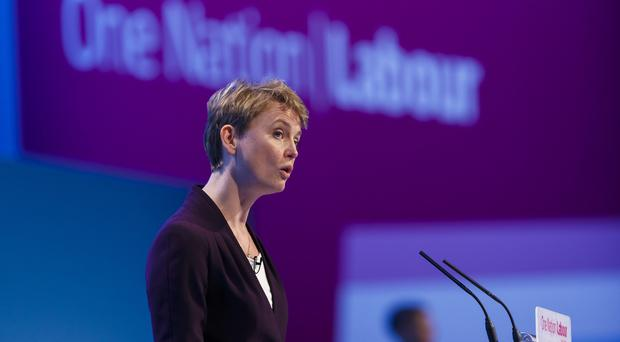 Yvette Cooper will use analysis of police recruitment figures to highlight the gap between the extra work and the number of new officers to deal with it